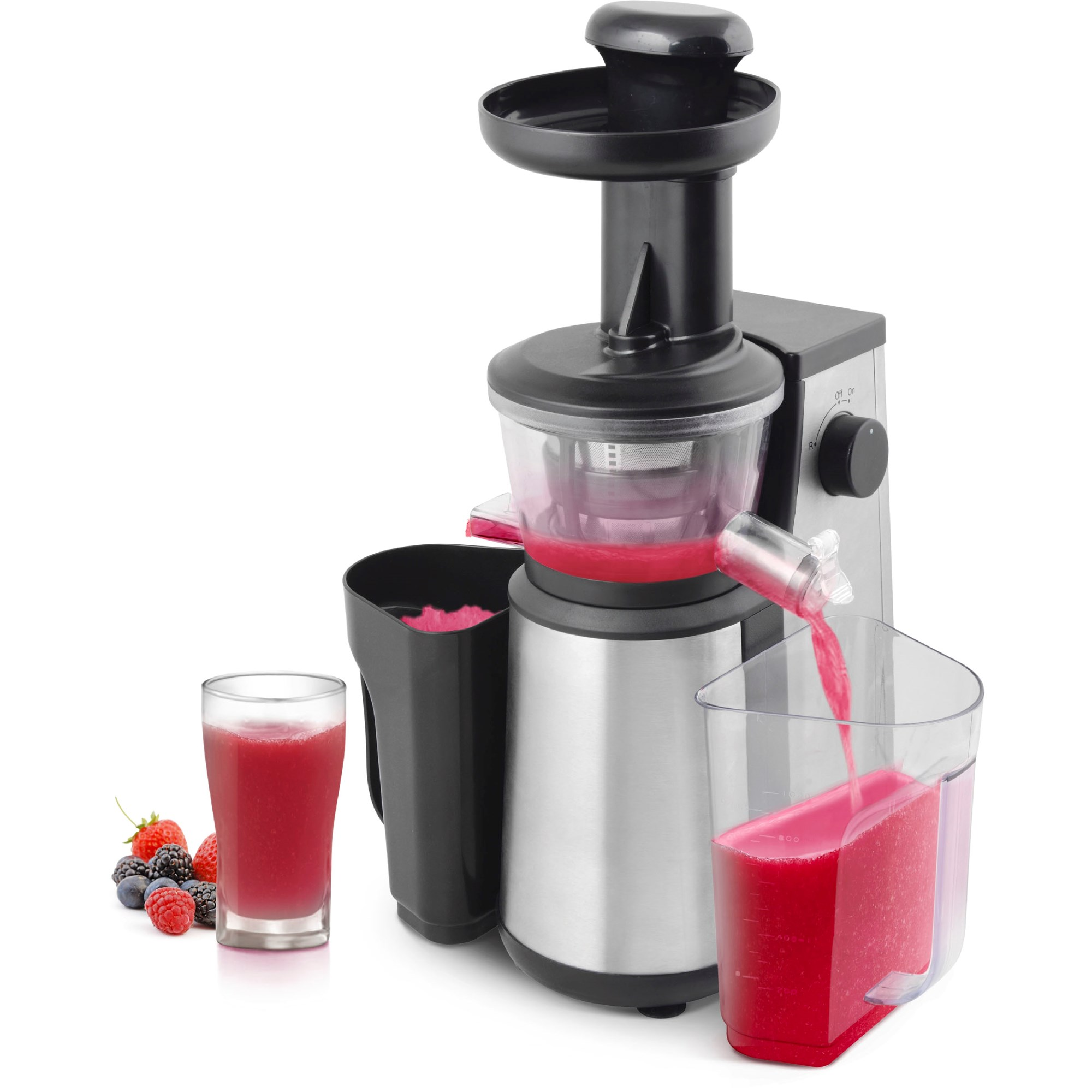 Slow Juicer fra Day To store beholdere